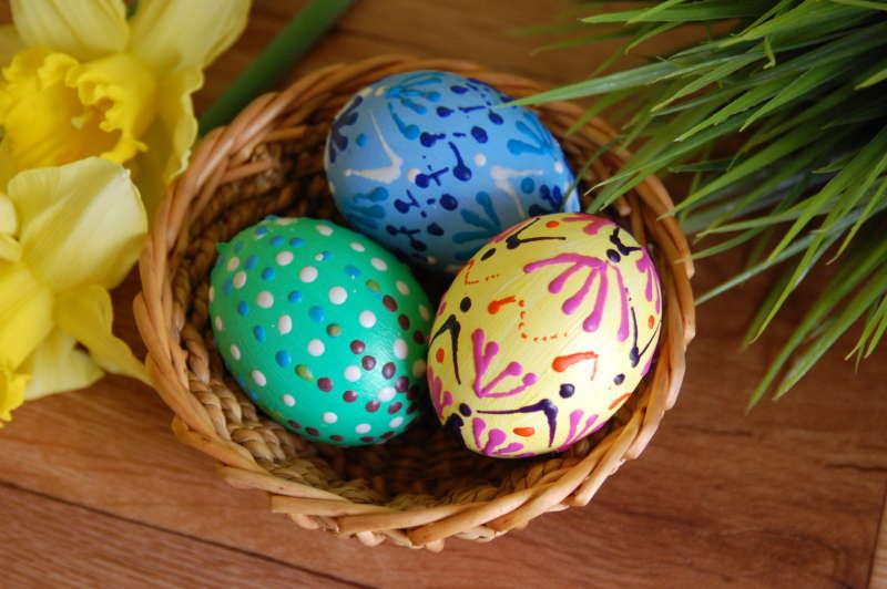 Velikonoční vajíčka – zdobíme voskovkami