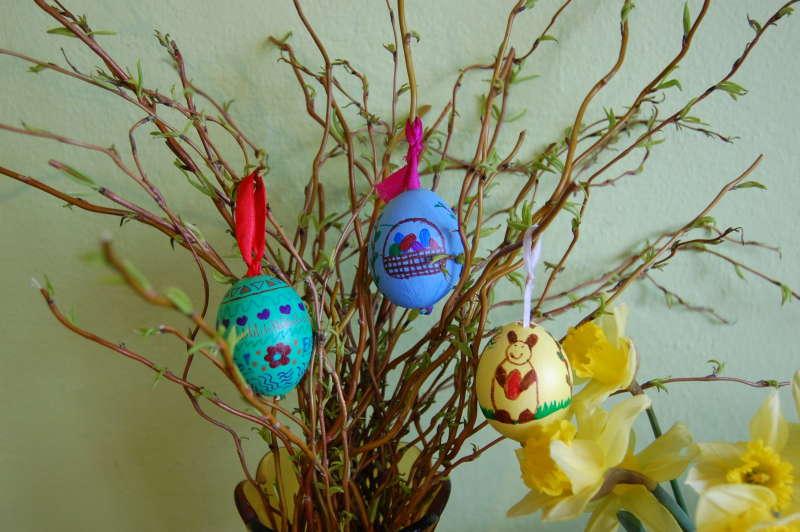 Velikonoční vajíčka – zdobíme fixkami