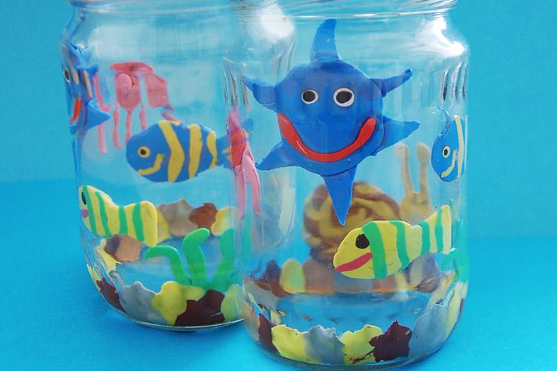Vyrobte si vlastní akvárium