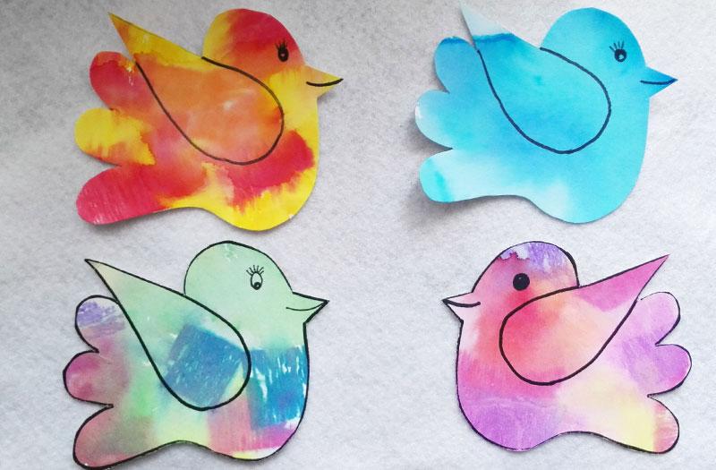 Papíroví ptáčci