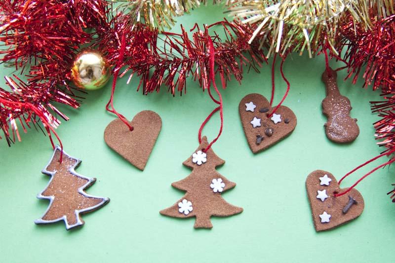 Skořicová srdíčka – voňavá vánoční dekorace
