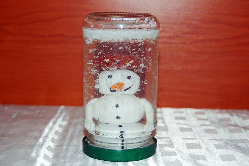 Sněžítko se sněhuláčkem