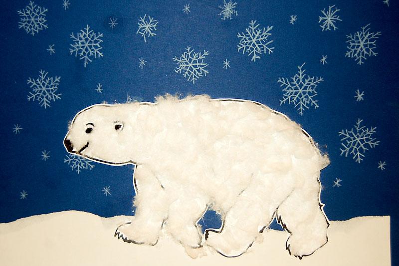 Pozor! Lední medvěd…