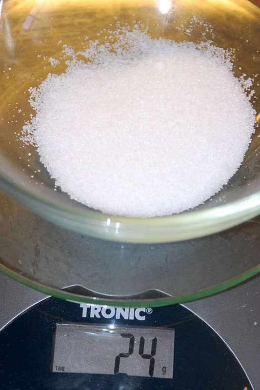 odvážíme sůl